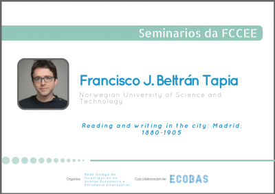 Seminario: Francisco J. Beltrán Tapia (Norwegian University of Science and Technology)